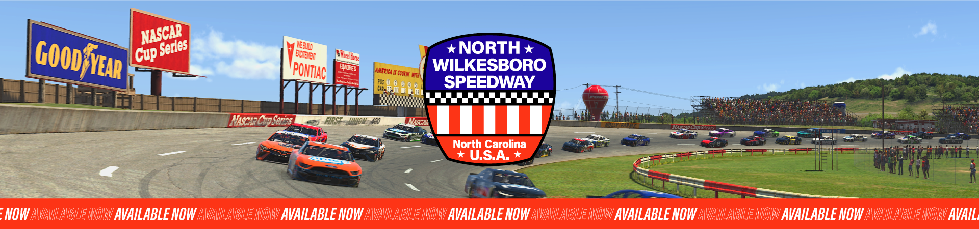 North Wilkesboro Speedway Is Now Available