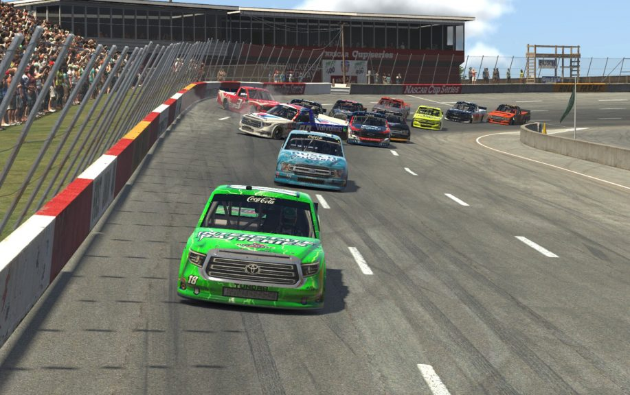 eNASCAR All-Star Race: Bowlin benefits from last lap chaos