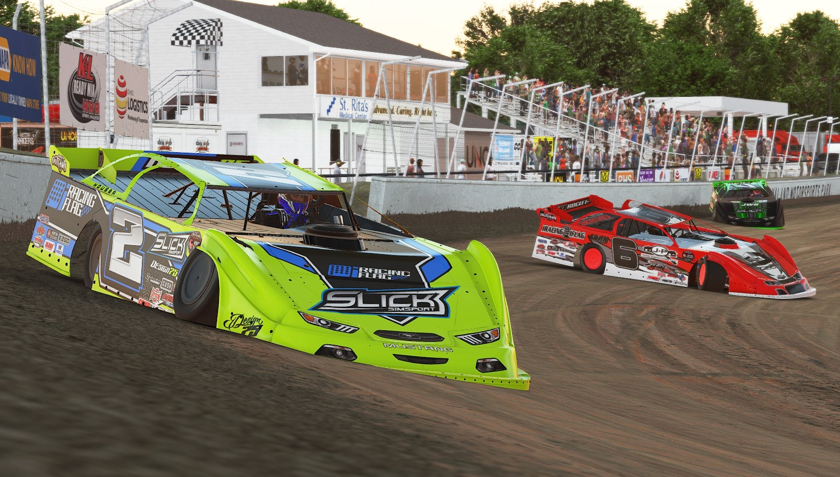 Houser triumphs in iRacing World of Outlaws