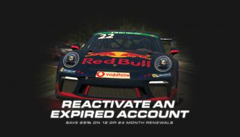 Save 25% When You Reactive an Expired iRacing Account