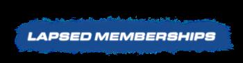 Renew a Lapsed Membership