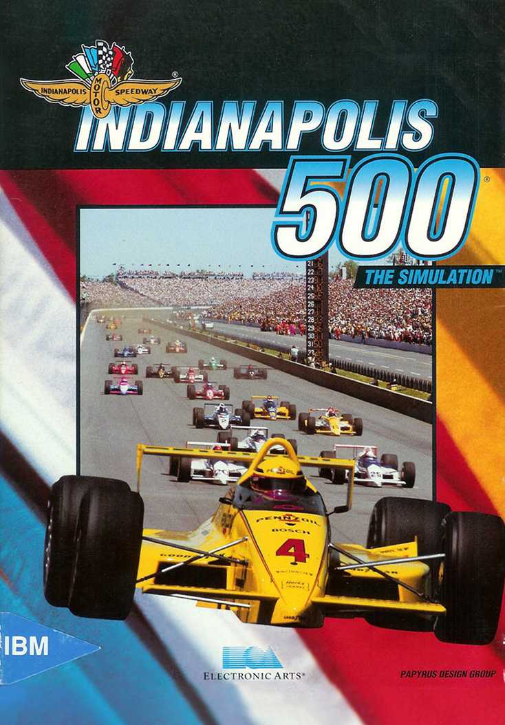Indianapolis 500: The Simulation - Cover Art