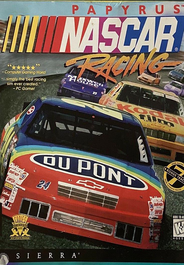NASCAR Racing - Cover Art