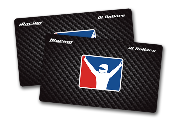 iRacing gift Cards