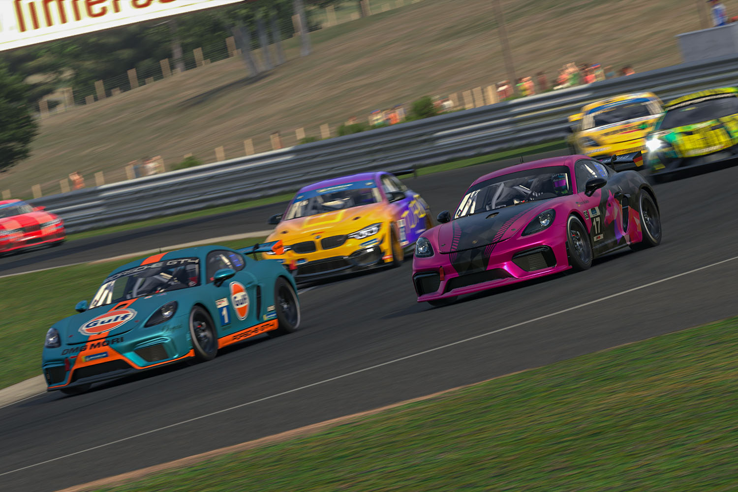 private hosted racing