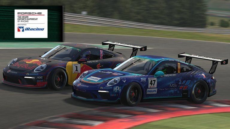 iRacing Porsche Supercup: Job and Kanaan win