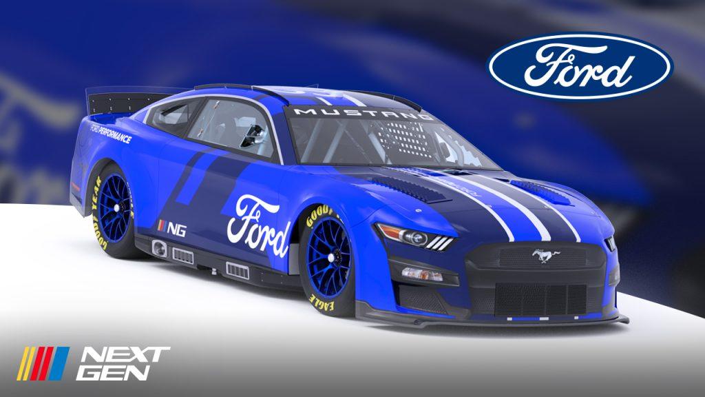 NASCAR NEXT GEN Ford Mustang