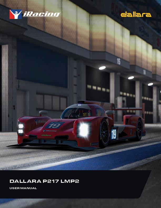 Dallara P217 LMP2 User Manual