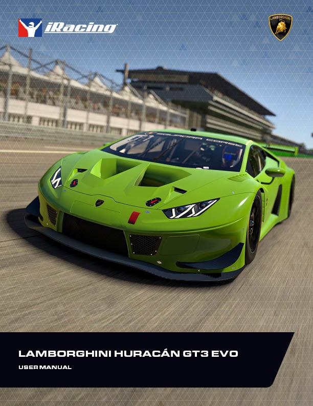 Lamborghini Huracan GT3 Evo User Manual