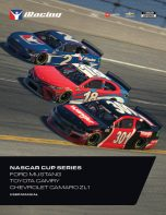 NASCAR Cup Series Cars User Manual